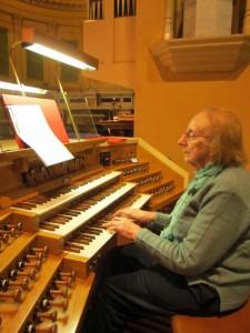 Kathleen - choir St Francis - 40 years
