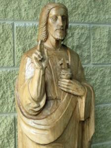sacred-heart-statue-st-bernards-church-belmont